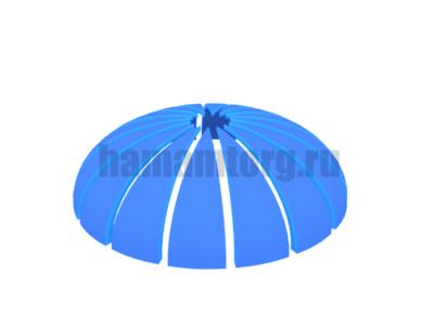Купола и потолки для хамама