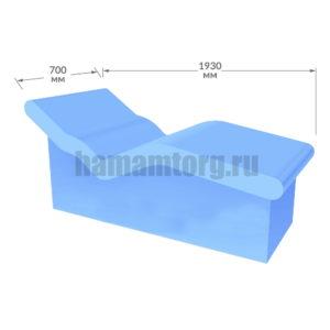 Лежак для хамама